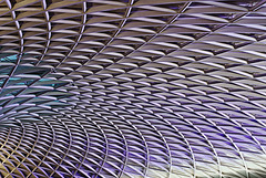 Kings X Concourse Roof Abstract