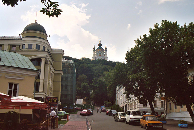 Kiev – Andriivska Street