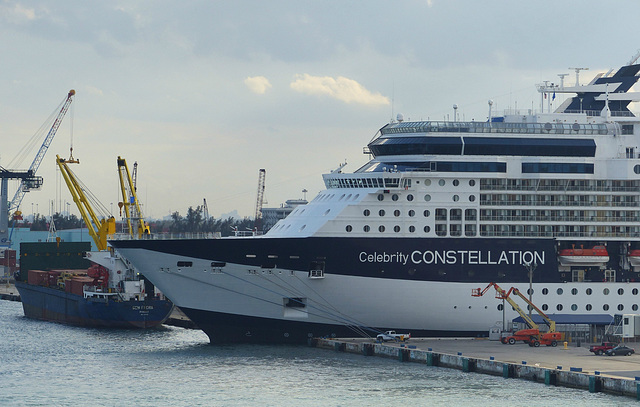 Celebrity Constellation at Port Everglades - 25 January 2014