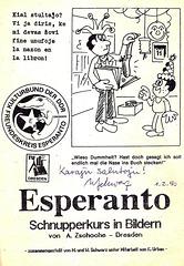 Schnupperkurs Esperanto in Bildern