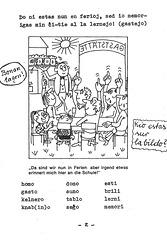 Provkurseto de Esperanto kun bildoj: Ferioj