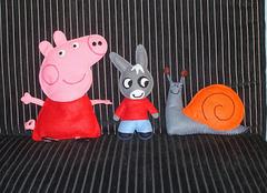 Peppa Pig, Trotro, Escargot