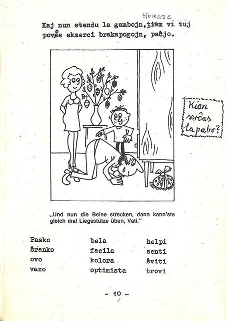 Provkurseto de Esperanto kun bildoj: Pasko