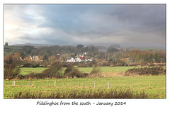 Piddinghoe from the south - 7.1.2014