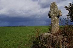 La croix de Quénec'h Cribet