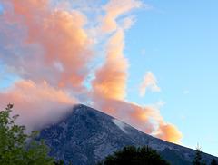 Wolken über dem Watzmann