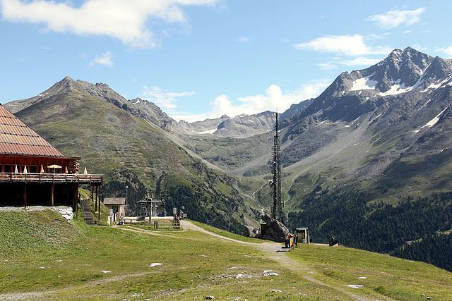 Bergstation Langenstein mit K2 Bergrestaurant