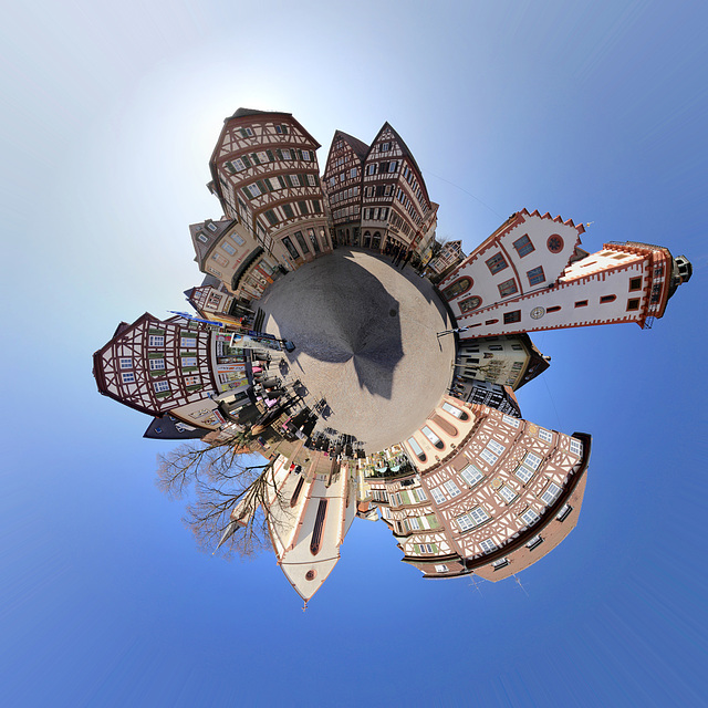 Mosbacher Marktplanet - Bird's View
