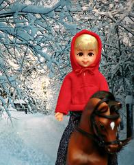 Chris Enjoys the Snow