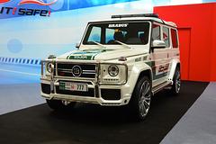 Dubai 2013 – Dubai International Motor Show – Mercedes-Benz G Brabus police car
