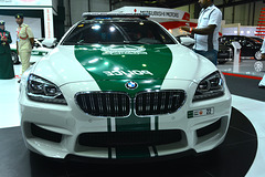 Dubai 2013 – Dubai International Motor Show – BMW police car