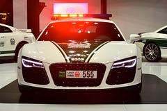 Dubai 2013 – Dubai International Motor Show – Audi police car