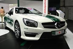 Dubai 2013 – Dubai International Motor Show – Mercedes-Benz police car