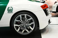 Dubai 2013 – Dubai International Motor Show – Audi police car