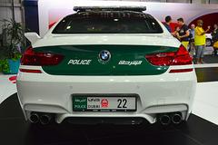 Dubai 2013 – Dubai International Motor Show – BMW police car