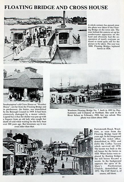 Floating Bridge and Cross House Southampton