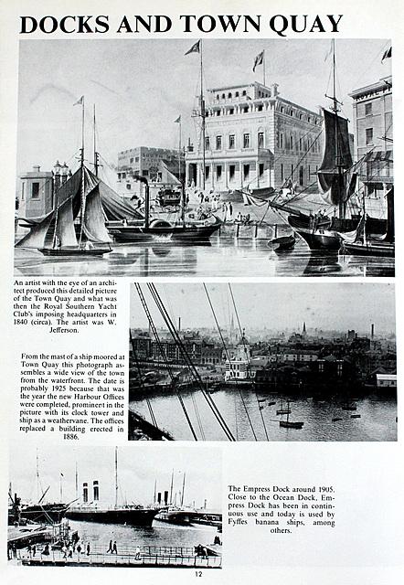 Southampton Docks and Town Quay