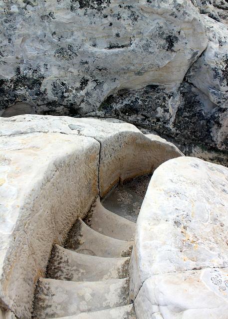 Trail steps, El Morro