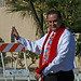 Mayor Sanchez at DHS Holiday Parade 2013 (3929)