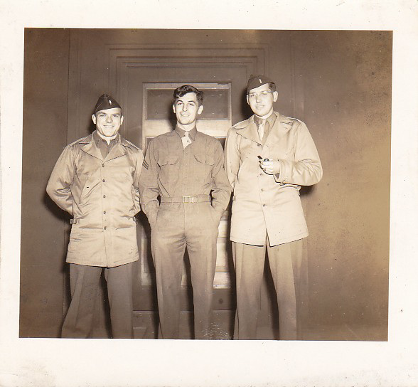 Dad (in the middle) Alaska WWII