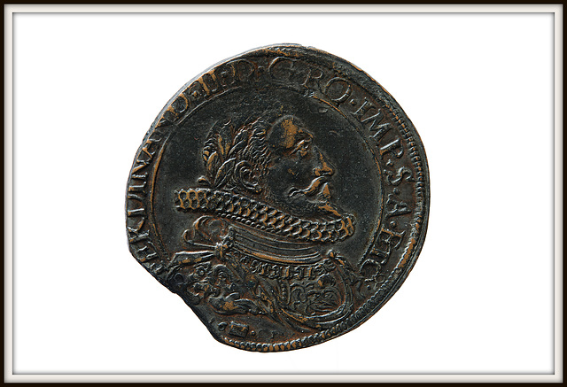 BESANCON: Jeton de Co-gouverneur de la famille Cabet Jean-Claude de 1666.