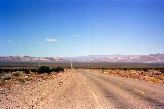 Endless ... Nevada Route 374, Sept. 1978 (060°)