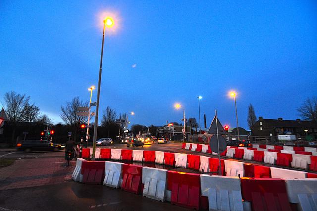 Crossing of the A4 motorway
