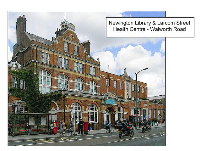 Newington Library & Larcom Street Health Centre London SE17