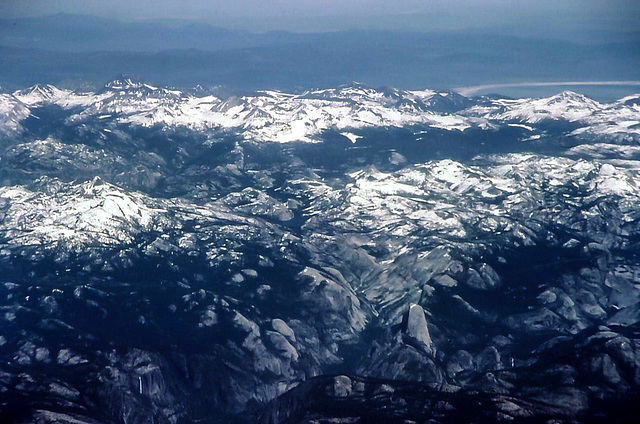 Yosemite NP aerial, June 1980 (060°)