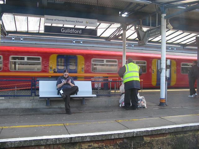 Guildford Station, Surrey