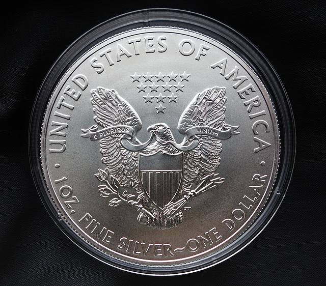 USA  Silver Dollar.