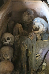 Mummies in Timbac Cave