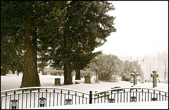 Pioneer Cemetery in Quesnel, BC