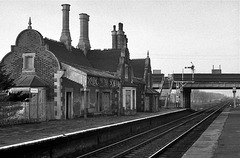Brocklesby station 1991