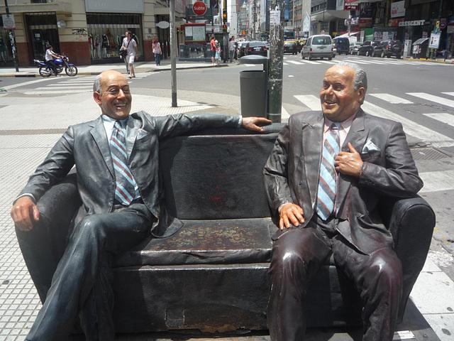 Estatua en Buenos Aires