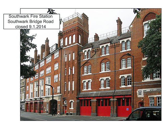 Southwark Fire Station London