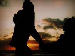 Komm, wir gehen den Sonnenuntergang schauen...