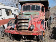 1939-1940 GMC Dumptruck