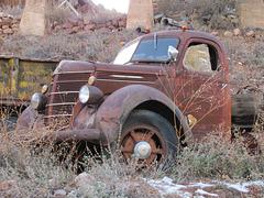 Old International Harvester Truck