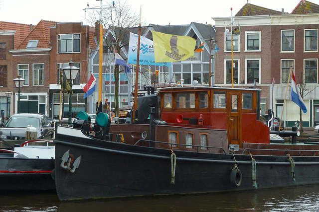 Ship flying the Kromhout flag