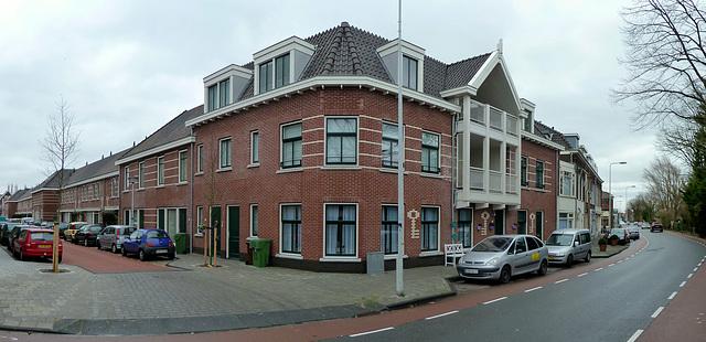 Corner of Alexanderstraat and Herensingel