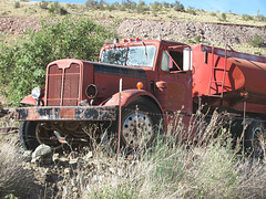 Old Autocar Truck
