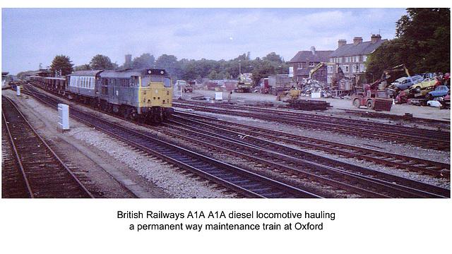 PW train Oxford