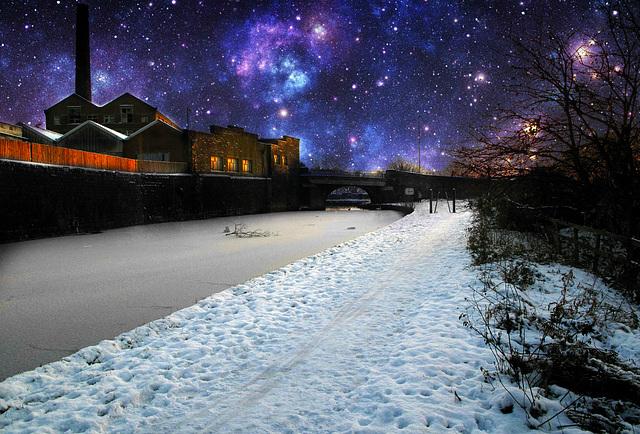 Winter fantasy.