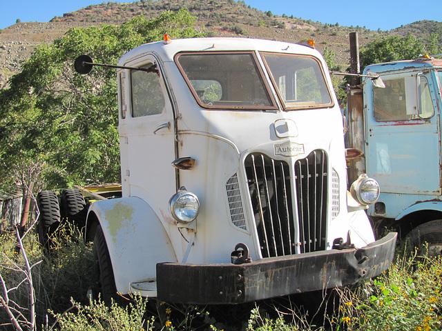 1952 Autocar COE (cab over engine) Truck