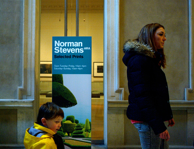 Norman Stevens exhibition at the Royal Academy