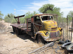 1940s Chevrolet COE (cab over engine) Truck