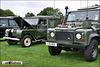 1955 Land Rover & 1997 Land Rover Defender - TYD 645 & L90 MOD