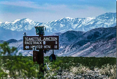 Teakettle Junction and White Mountains, March 1980