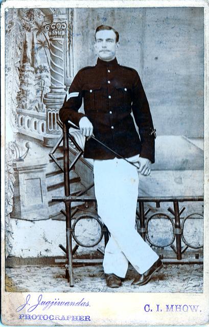 Dress uniform, British Soldier India c1880